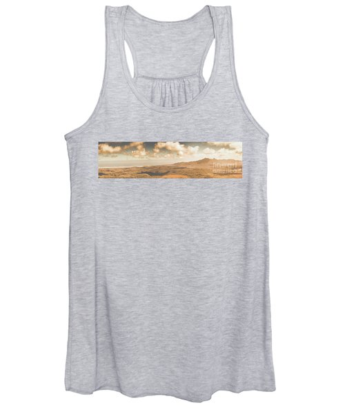 Trial Harbour Landscape Panorama Women's Tank Top