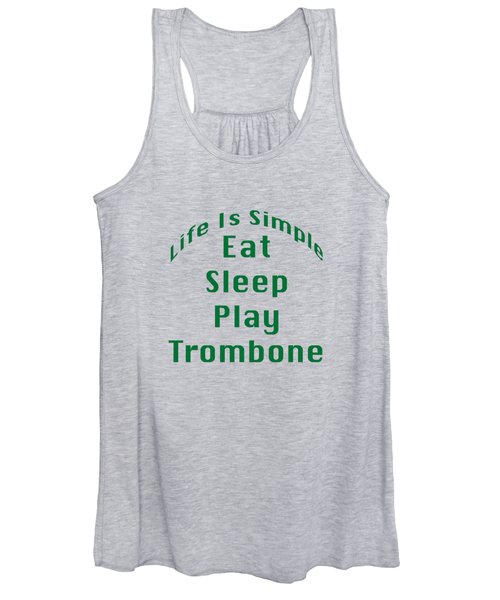 Trombone Eat Sleep Play Trombone 5517.02 Women's Tank Top