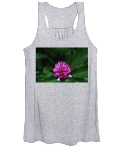 Tropical Flower Women's Tank Top