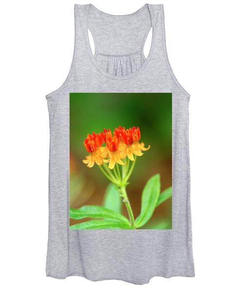 Tropical Milkweed Women's Tank Top