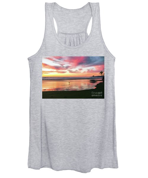 Tropical Sunset Island Bliss Seascape C8 Women's Tank Top