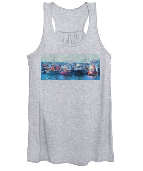 Tugs Together  Women's Tank Top