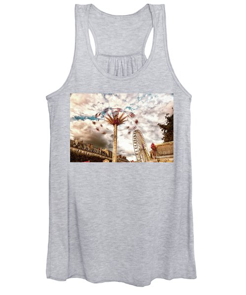 Tuilerie Garden Paris Swings Women's Tank Top