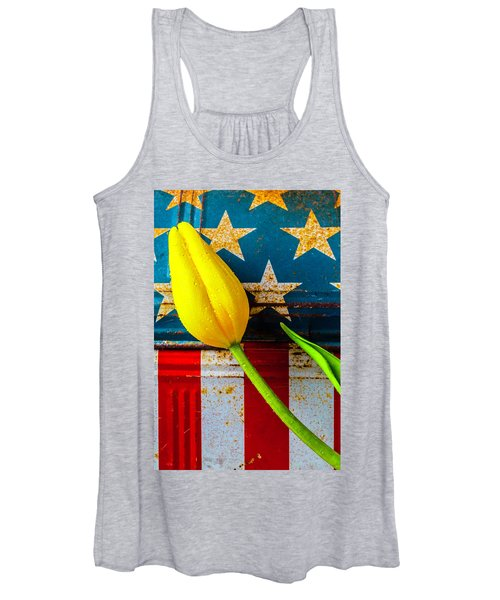 Tulip And Old Lunch Box Women's Tank Top