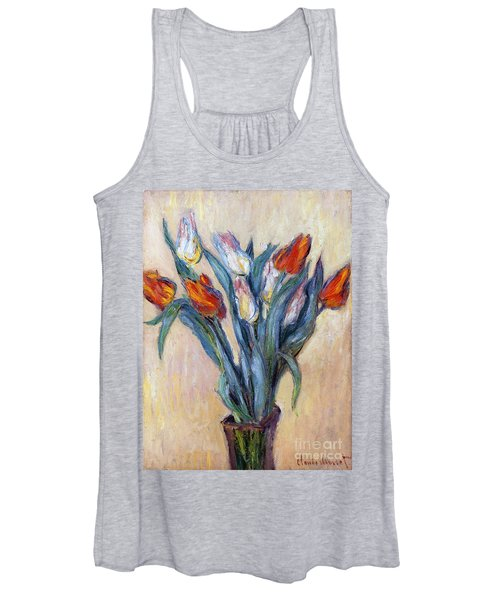 Tulips Women's Tank Top