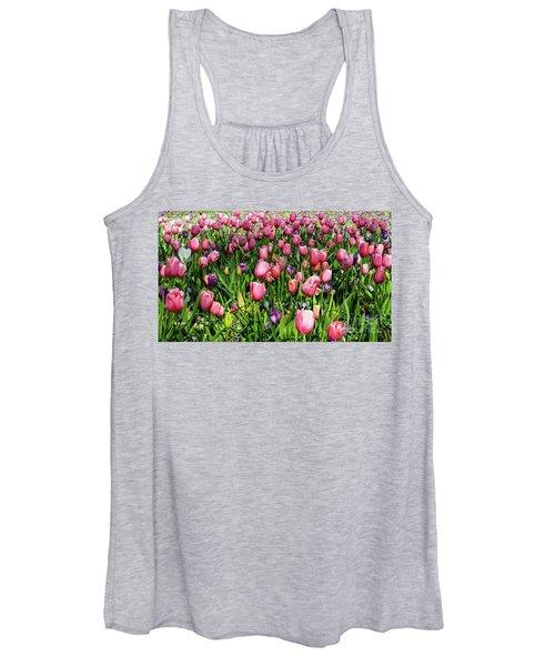 Tulips In Bloom Women's Tank Top