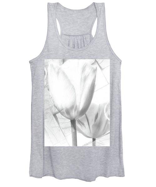 Tulips No. 3 Women's Tank Top