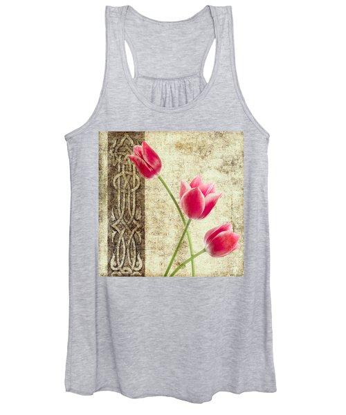 Tulips Vintage  Women's Tank Top