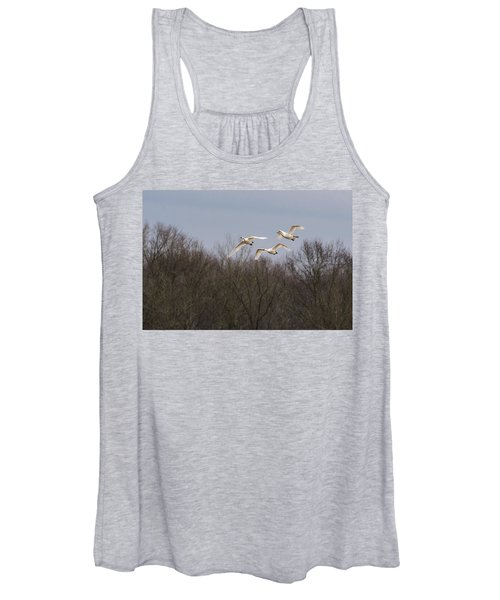 Tundra Swan Trio Women's Tank Top