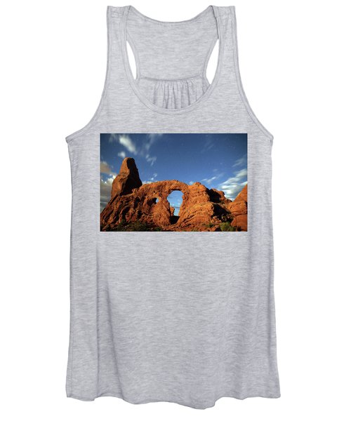 Turret Arch In The Moonlight Women's Tank Top