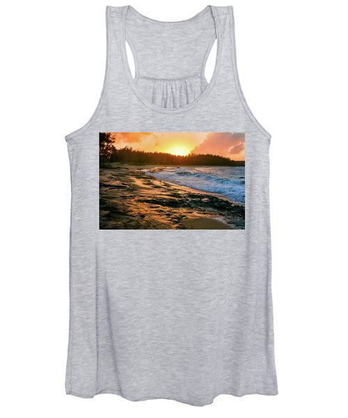 Turtle Bay Sunset 2 Women's Tank Top