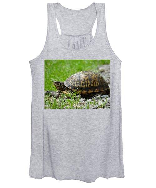 Turtle Crossing Women's Tank Top