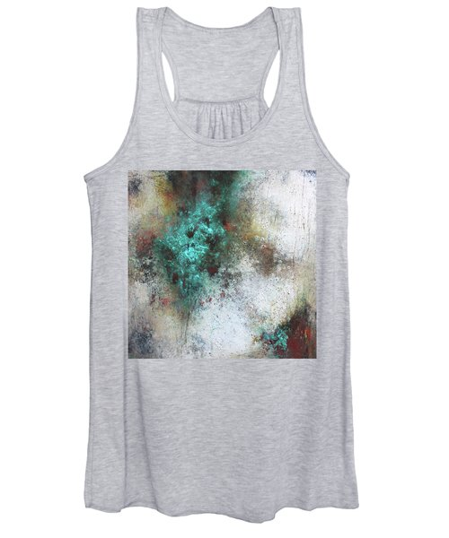 Tuscany Oil And Cold Wax Women's Tank Top