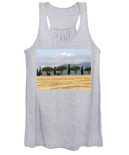 Tuscany Trees Women's Tank Top