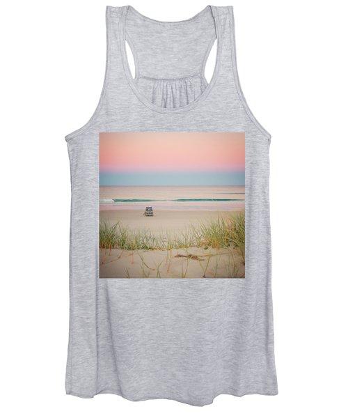 Twilight On The Beach Women's Tank Top