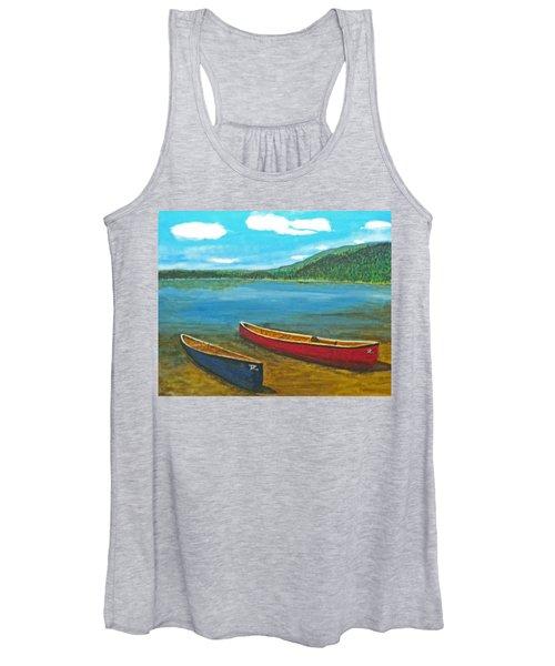 Two Canoes Women's Tank Top