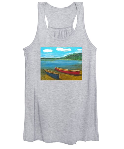 Two Canoes Women's Tank Top