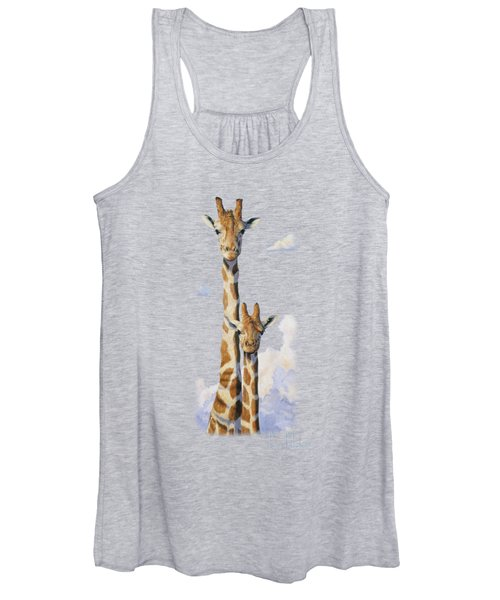 Two Heads In The Clouds Women's Tank Top