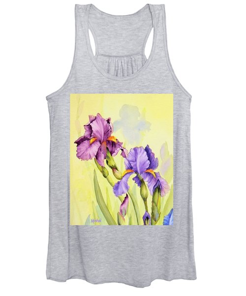 Two Irises  Women's Tank Top