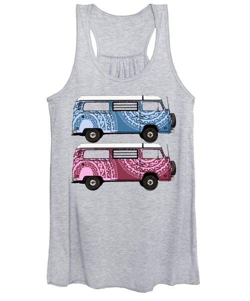 Two Vw Vans Women's Tank Top