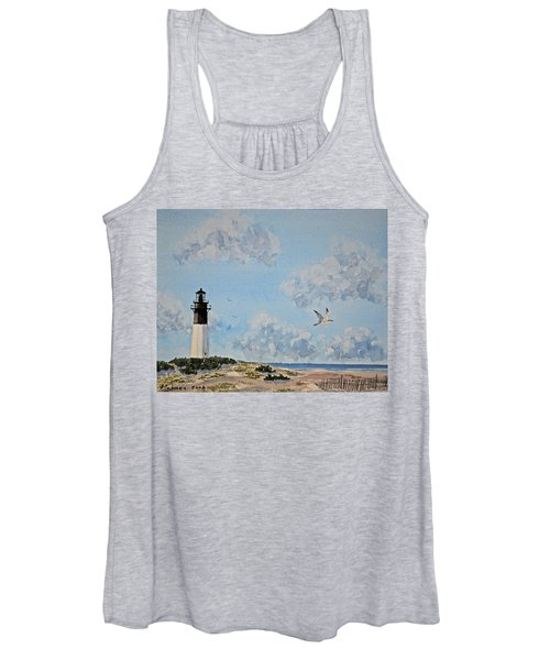 Tybee Light Savannah Women's Tank Top