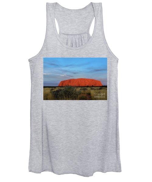 Uluru Sunset 03 Women's Tank Top