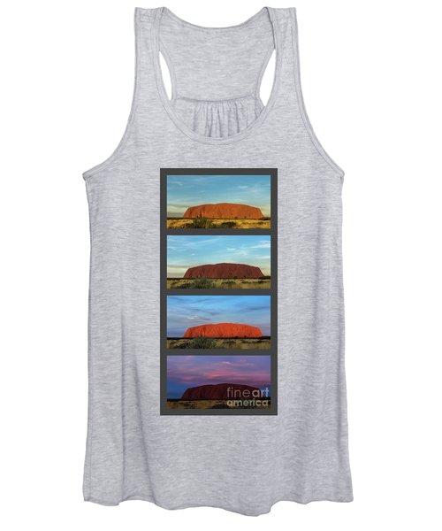 Uluru Sunset Women's Tank Top