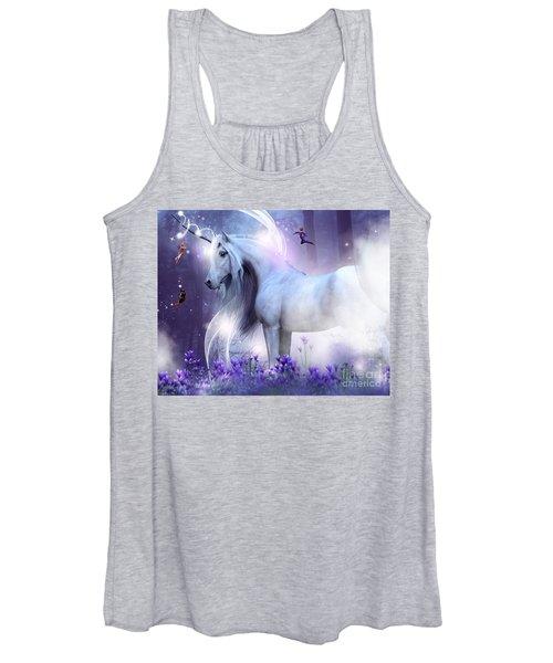 Unicorn Kisses Women's Tank Top