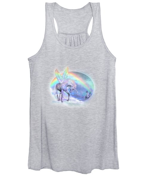Unicorn Of The Rainbow Women's Tank Top