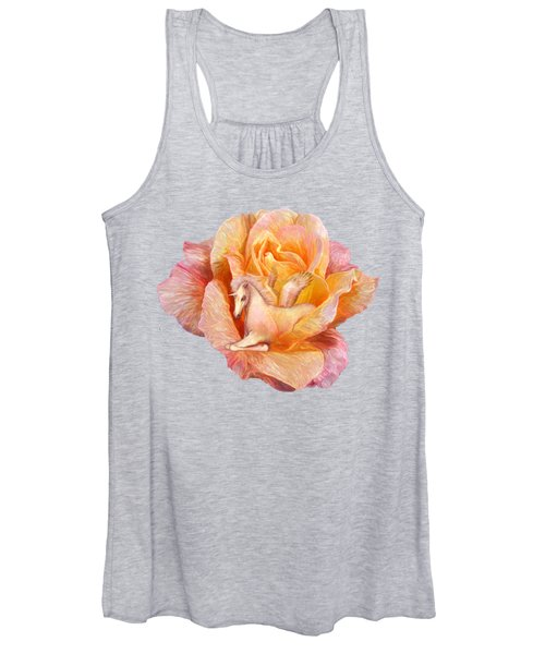 Unicorn Rose Women's Tank Top