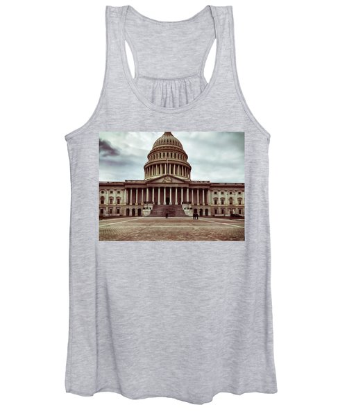 United States Capitol Building Women's Tank Top