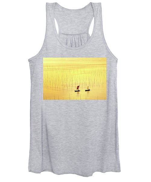 Up At Dawn. Women's Tank Top