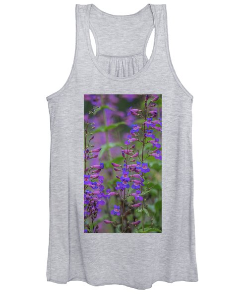 Up Close And Personal With Beauty Women's Tank Top