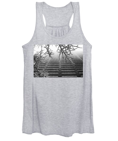 Up In The Snow Women's Tank Top