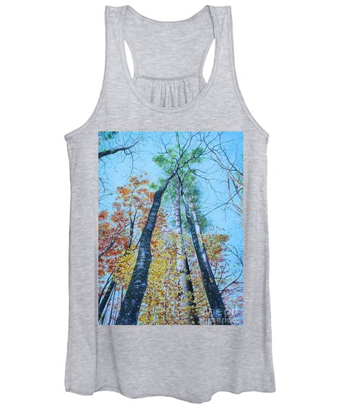 Up Into The Trees Women's Tank Top