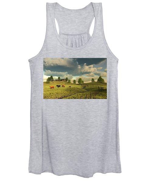 Upon The Rural Seas Women's Tank Top