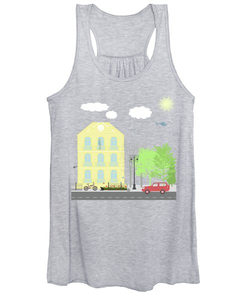 Urban Scene Women's Tank Top