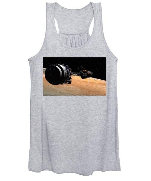 Uss Hermes 1 In Orbit Women's Tank Top