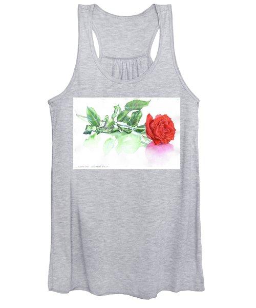 Valentine Rose Women's Tank Top