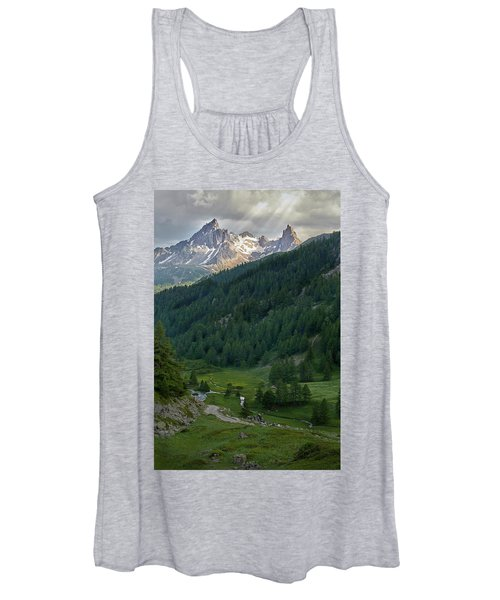 Valley In The French Alps Women's Tank Top