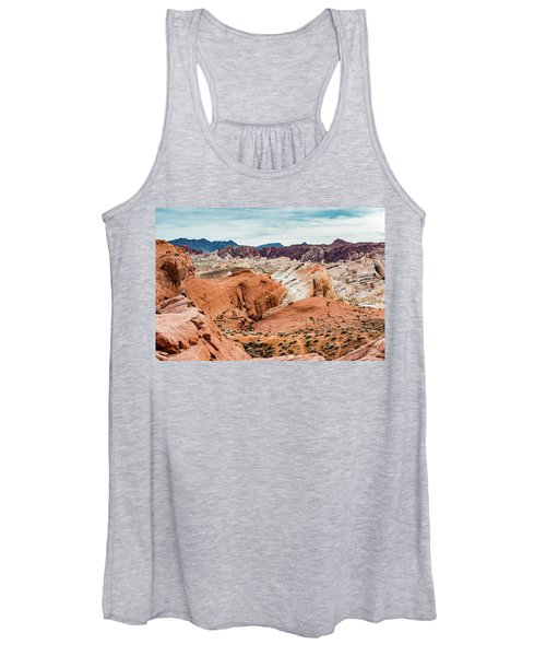 Valley Of Fire  Women's Tank Top