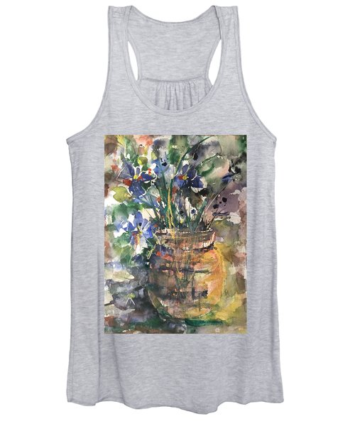 Vase Of Many Colors Women's Tank Top