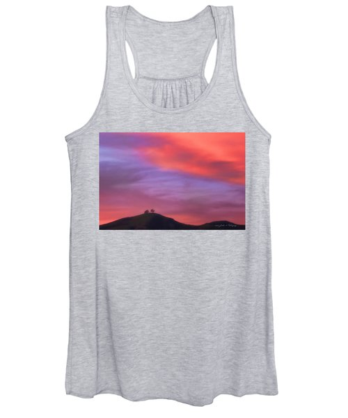 Ventura Ca Two Trees At Sunset Women's Tank Top