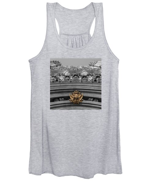 Victoria Tower Low Angle London Women's Tank Top