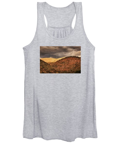 View From A Train Pnt Women's Tank Top