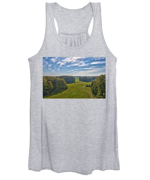 View From Lilac Mountain Women's Tank Top