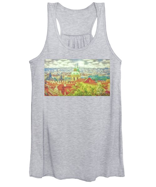 View From The High Ground - Prague  Women's Tank Top