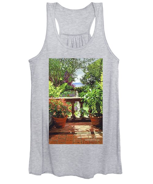 View From The Royal Garden Women's Tank Top