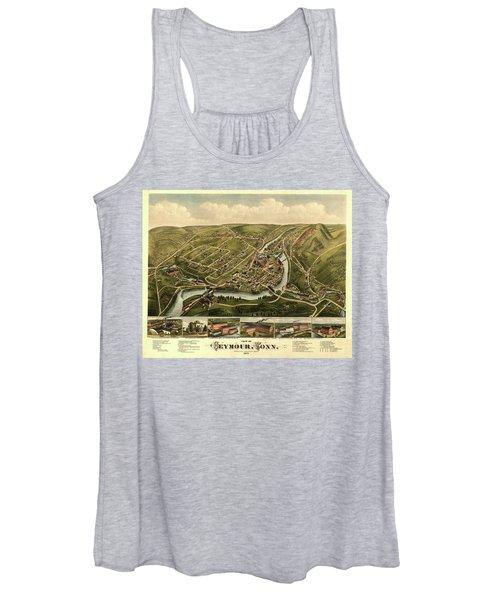 View Of Seymour, Conn. Women's Tank Top