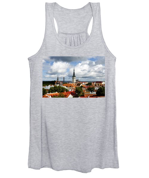 View Of St Olav's Church Women's Tank Top